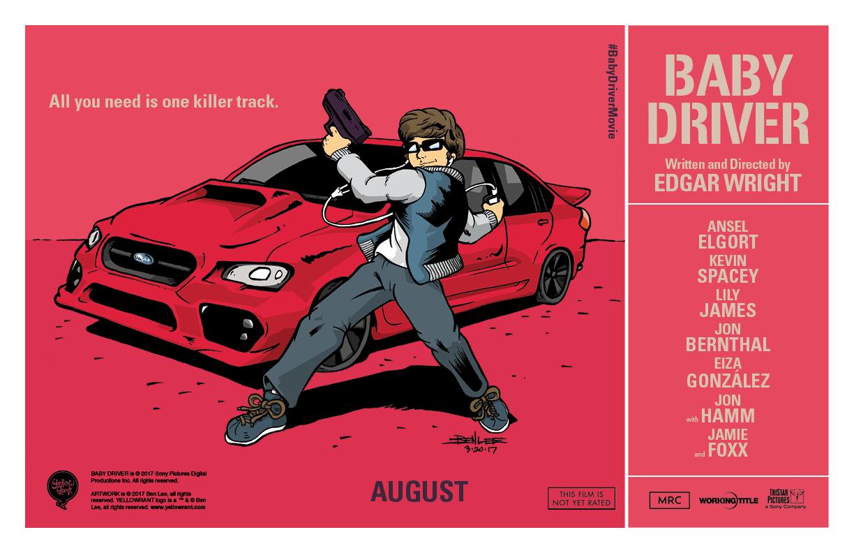 'BABY DRIVER' Love… – Ben Lee | Illustration + Design ...