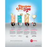 AMC: Signature Drink one-sheet