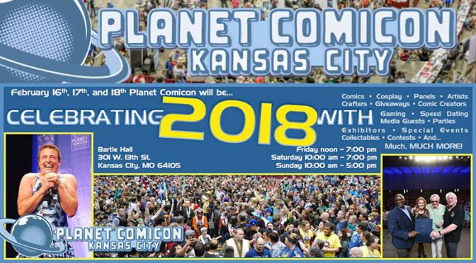 Won't You Join Me at Planet Comicon?