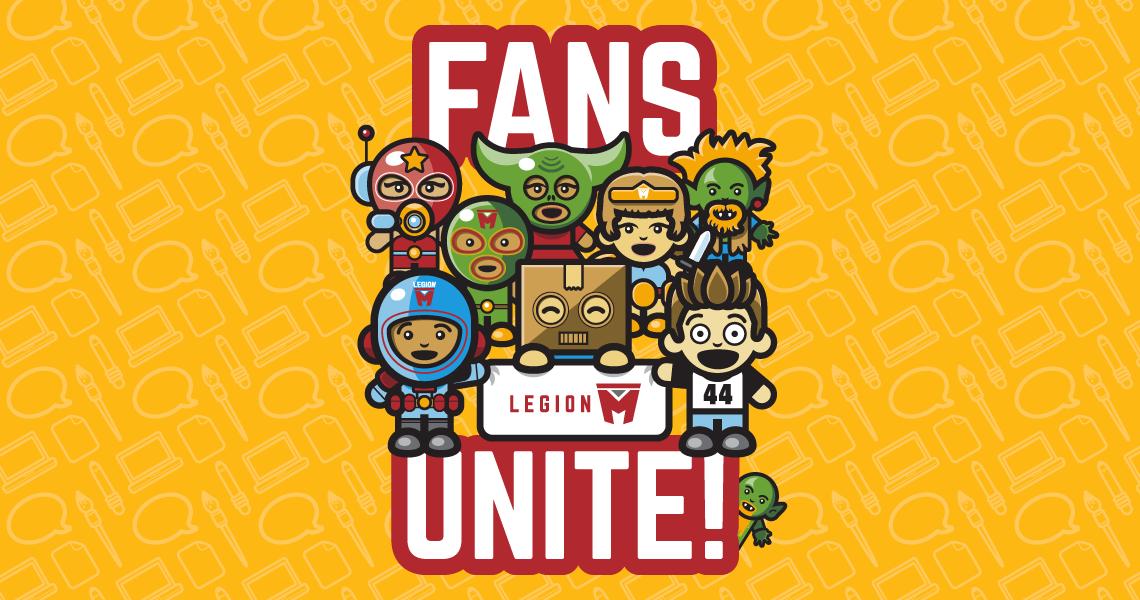 PRODUCT: 'Fans Unite' Tee, Legion M