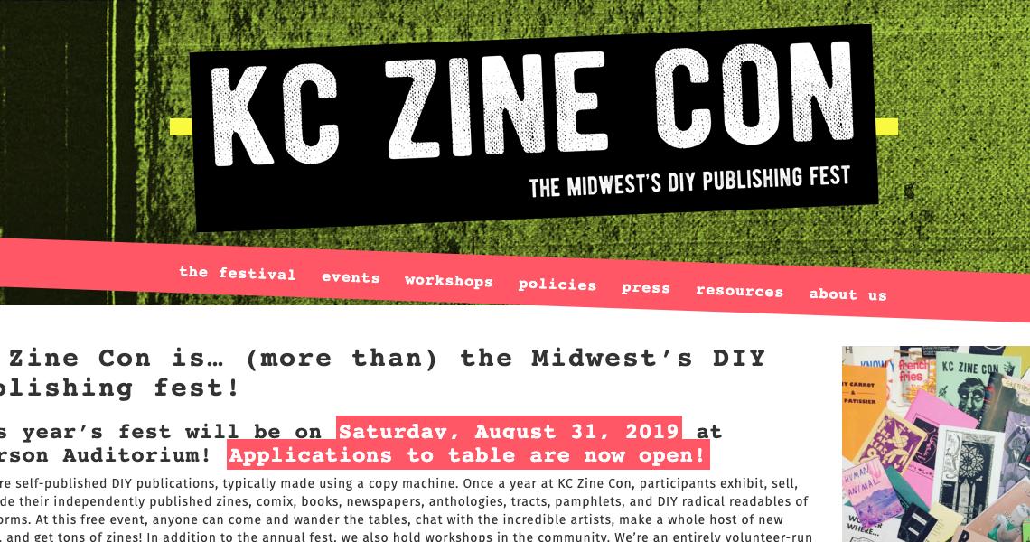 KC Zine Con