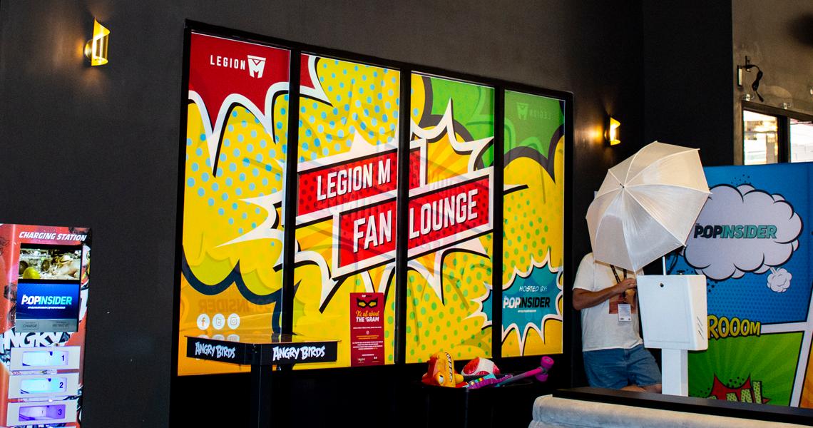 Legion M: Fan Lounge