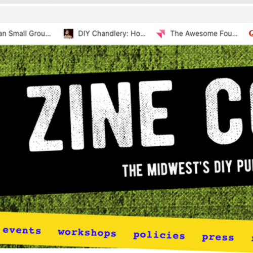 KC Zine Con is Coming and It's Virtual!